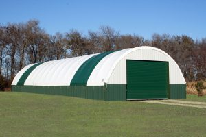 30 Wide Tarp Shed