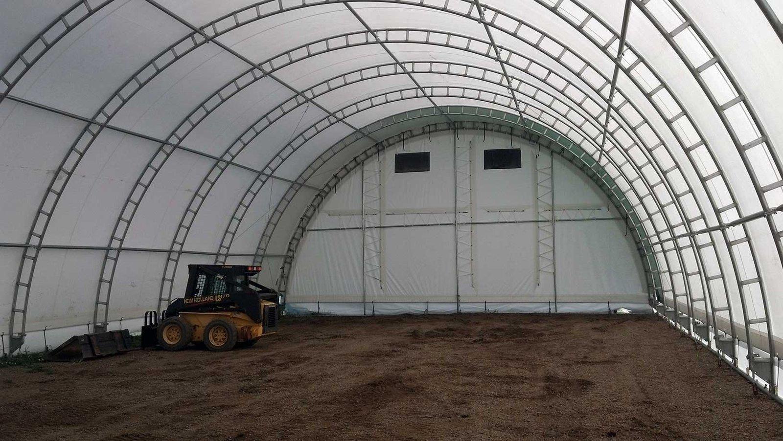 45'W Ground Mount Hoopbuilding