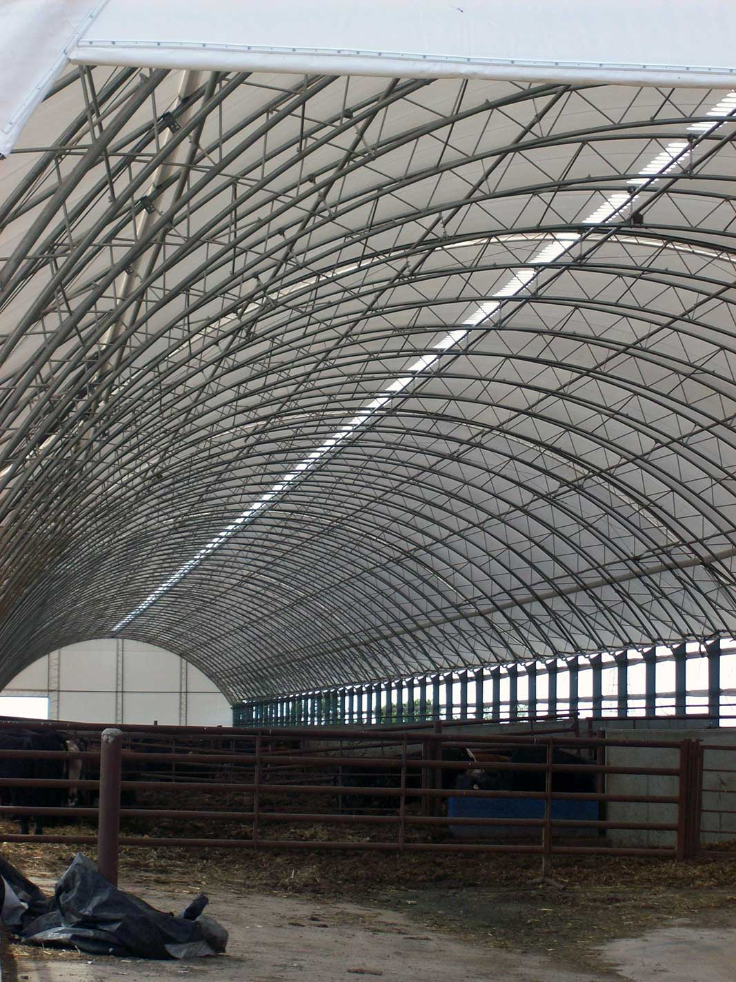 70' Wide Hoop Barn